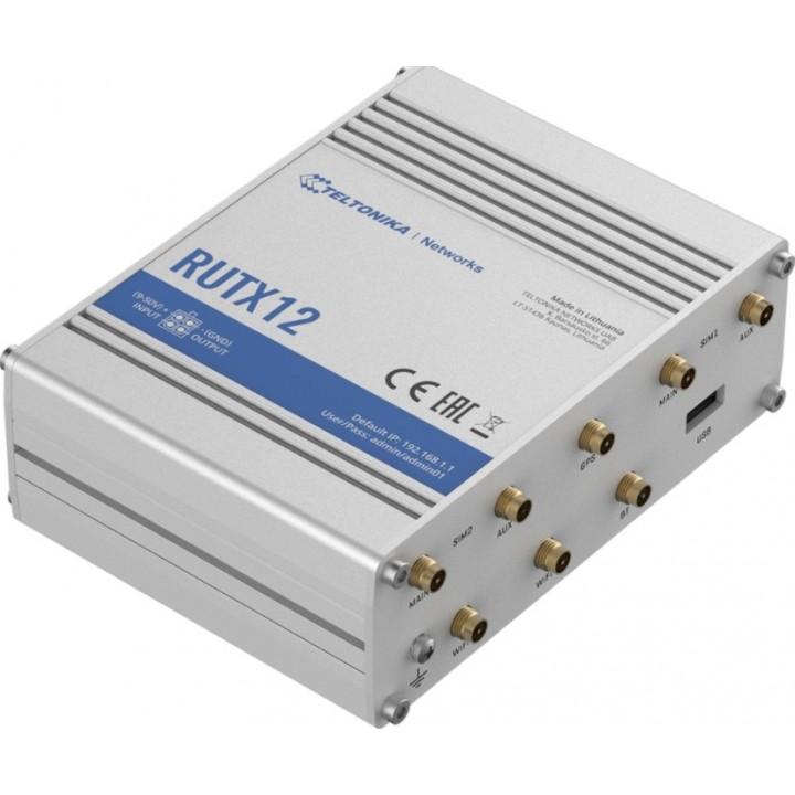 Маршрутизатор Teltonika RUTx12 - Два Модуля (2 Сим)