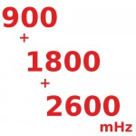 900/1800/2600 (мГц) Трех-диапазонные Репитеры