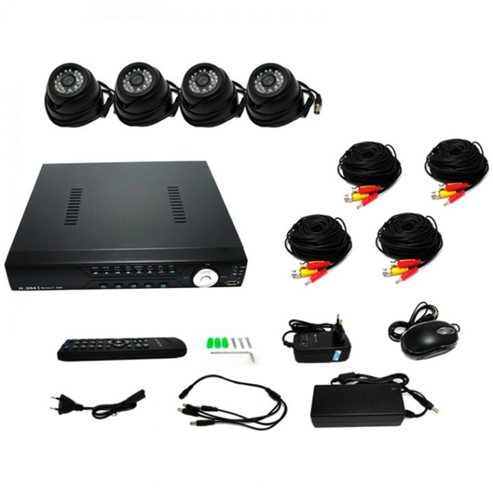 Комплект видеонаблюдения Tenex CCTV – 4B
