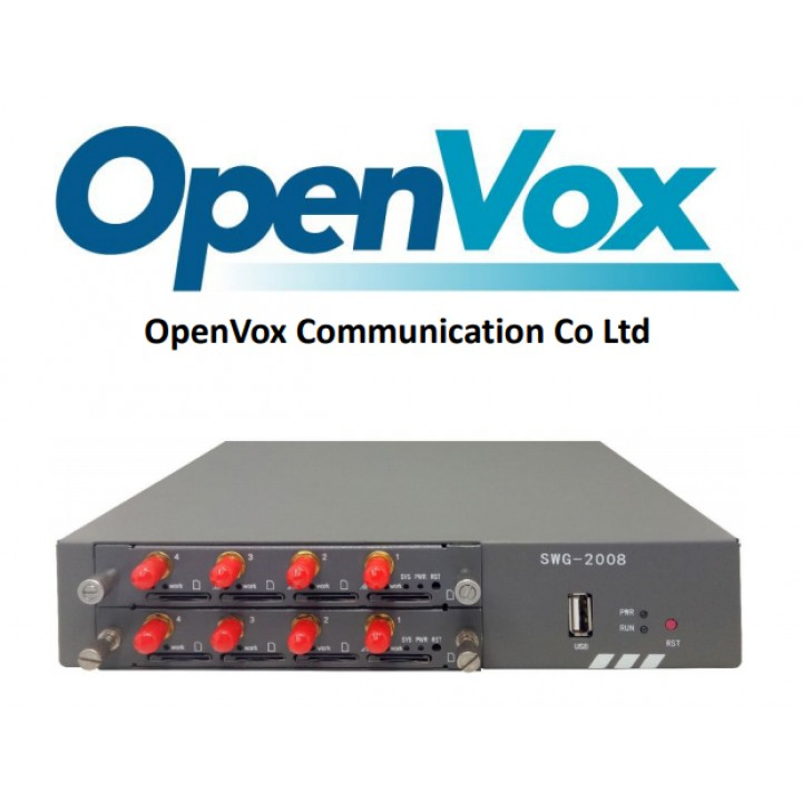 VOIP-GSM/3G/LTE Шлюз OpenVox SWG-2008-8W
