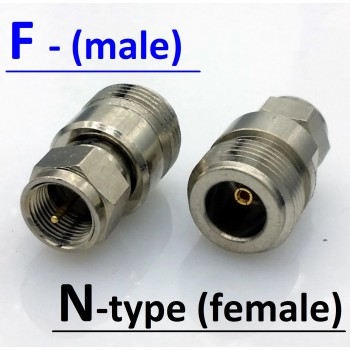 Перехідник F (male) - N (female)