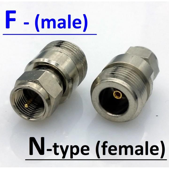 Адаптер (Переходник) F(male) - N(female)