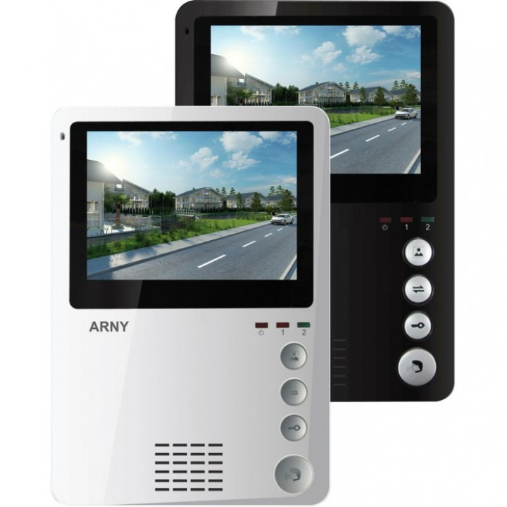 Домофон Arny AVD-410M - зберігає в пам'яті 250 фото
