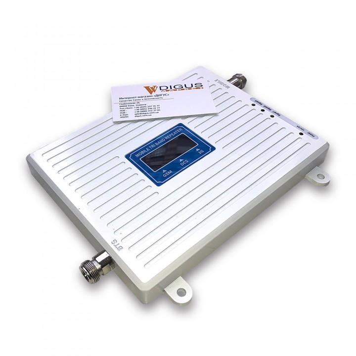 Підсилювач 4G 3G GSM сигналу ICS23A-GDW 900/1800/2100