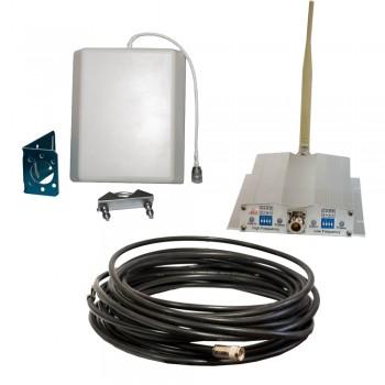 Усилитель (репитер) GSM сигнала ICS10L-GD 900/1800 Комплект