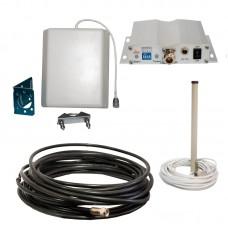 Репитер GSM сигнала ICS10F-D 1800 Комплект 2