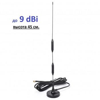 Авто Антенна на магнитном основании ICS-4G/3G/2G-09-M 800-2700 мГц