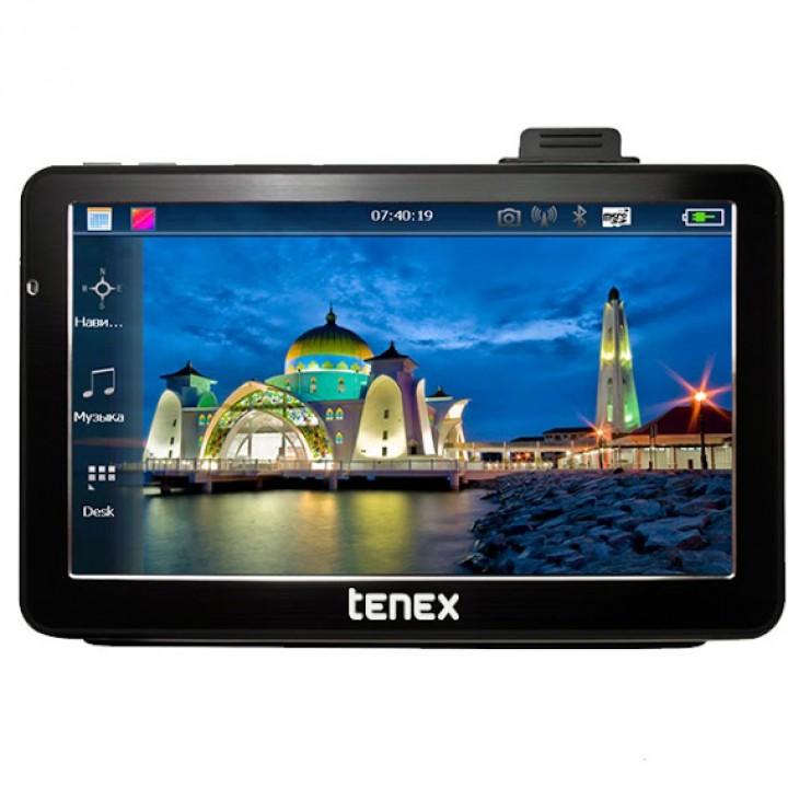Навігатор Tenex 70 E (c відеореєстратором) з осіб. Navitel