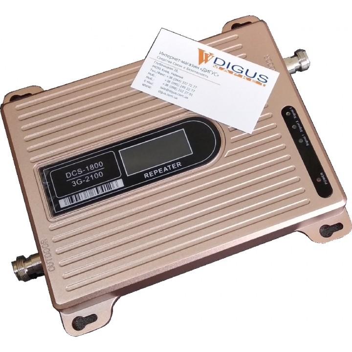 Усилитель 4G 3G GSM сигнала ICS23K-DW 1800/2100