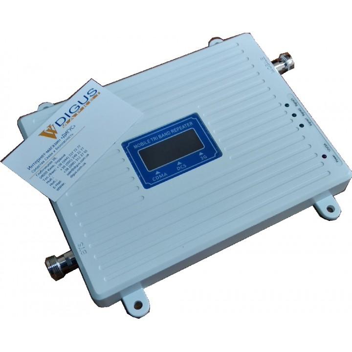 Усилитель  CDMA / 4G 3G GSM сигнала ICS23A-CDW 800/1800/2100