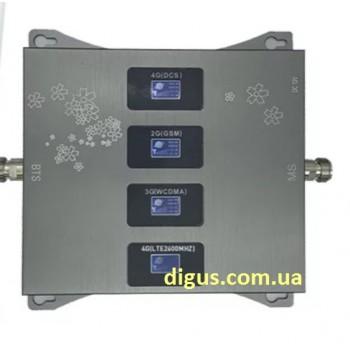 Репитер 4G 3G GSM сигнала ICS23A-GDWL 900/1800/2100/2600