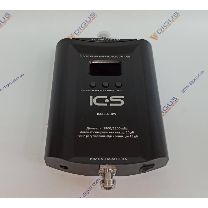 Репитер 4G 3G GSM сигнала ICS10LN-DW 1800/2100