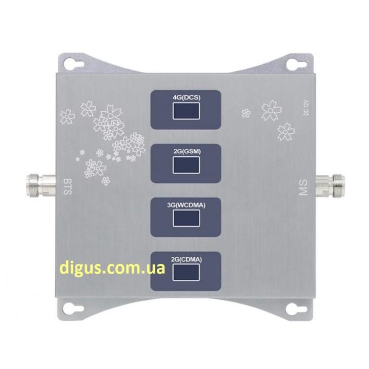 Усилитель CDMA 4G 3G GSM сигнала ICS23A-CGDW 800/900/1800/2100