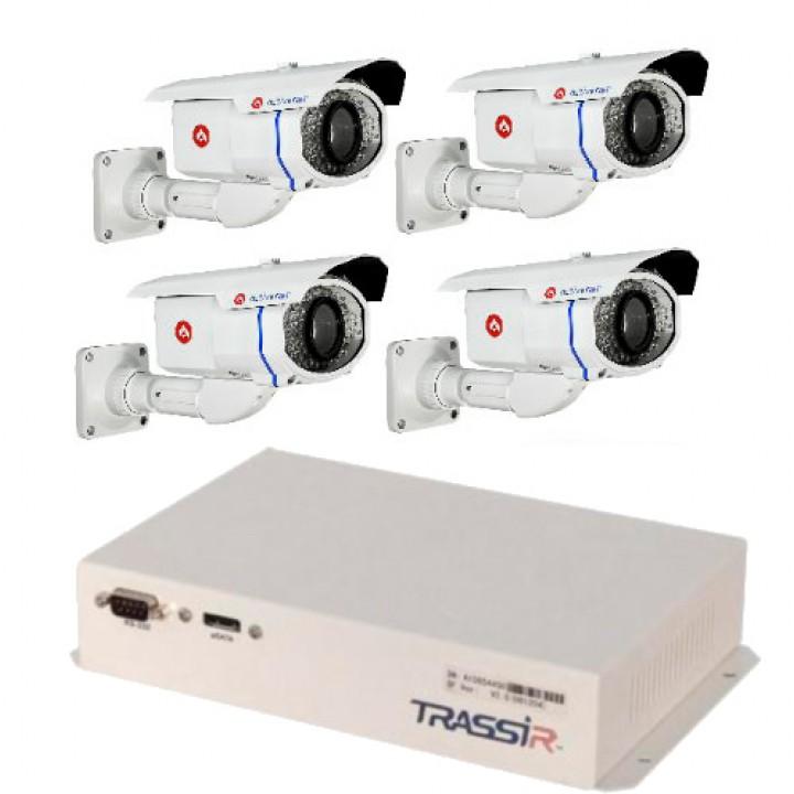Комплект Lanser-Mobile II +4 камеры AC-A254IR5