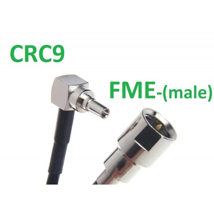 Пигтейл CRC9-FME(папа) - переходник, адаптер