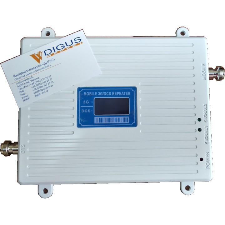 Усилитель 4G 3G GSM сигнала ICS23A-DW 1800/2100