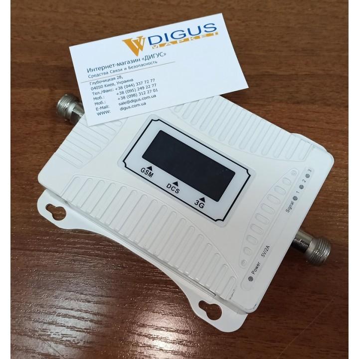Усилитель 4G 3G GSM сигнала ICS17A-GDW 900/1800/2100