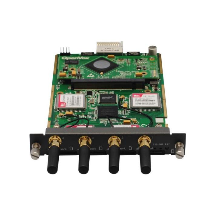 Voip GSM OpenVox VS-GWM400G - модуль расширения (4 Sim карты)
