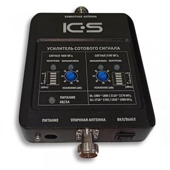 Усилитель (репитер) 4G 3G GSM сигнала ICS10N-DW 1800/2100