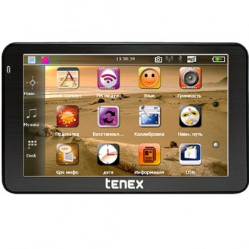 Навигатор Tenex 50 D ( c видеорегистратором) с лиц.Libelle