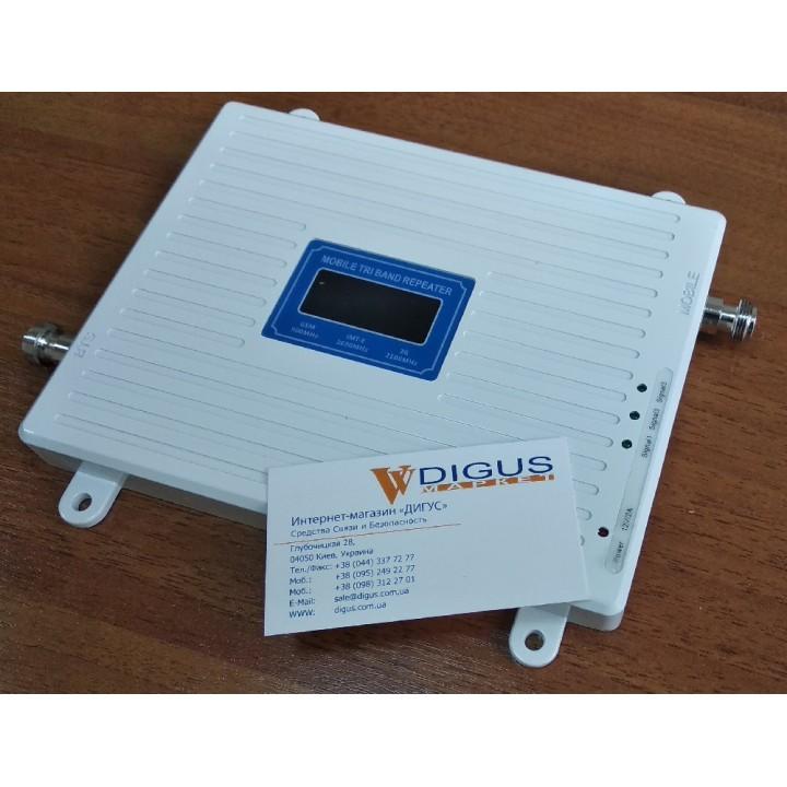 Усилитель 4G 3G GSM сигнала ICS23A-GWL 900/2100/2600