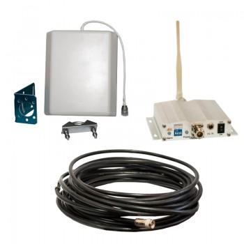 Усилитель (репитер) GSM сигнала ICS10F-G 900 Комплект