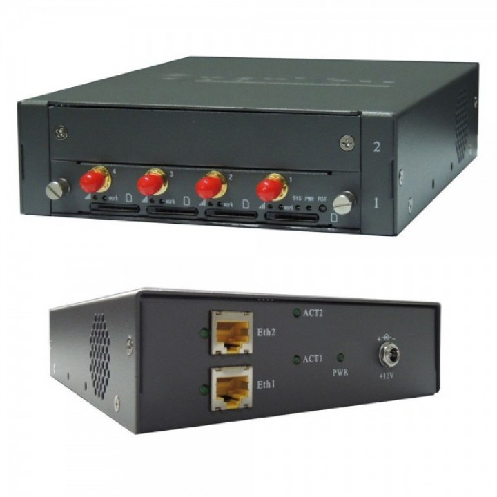 GSM шлюз OpenVox VS-GW1202-4G (4 SIM карти)
