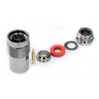 Разъем N-тип под кабель RG8 / 8D-FB (диаметр кабеля 10мм-11мм)