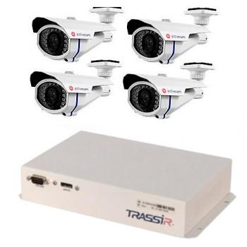 Комплект відеоспостереження Lanser-Mobile II + 4 камери AC-A251IR1 за мінімальною ціною!