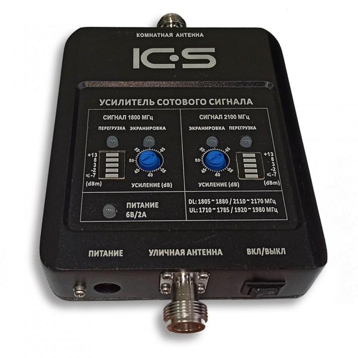 Репитер 4G 3G GSM сигнала ICS10N-DW 1800/2100