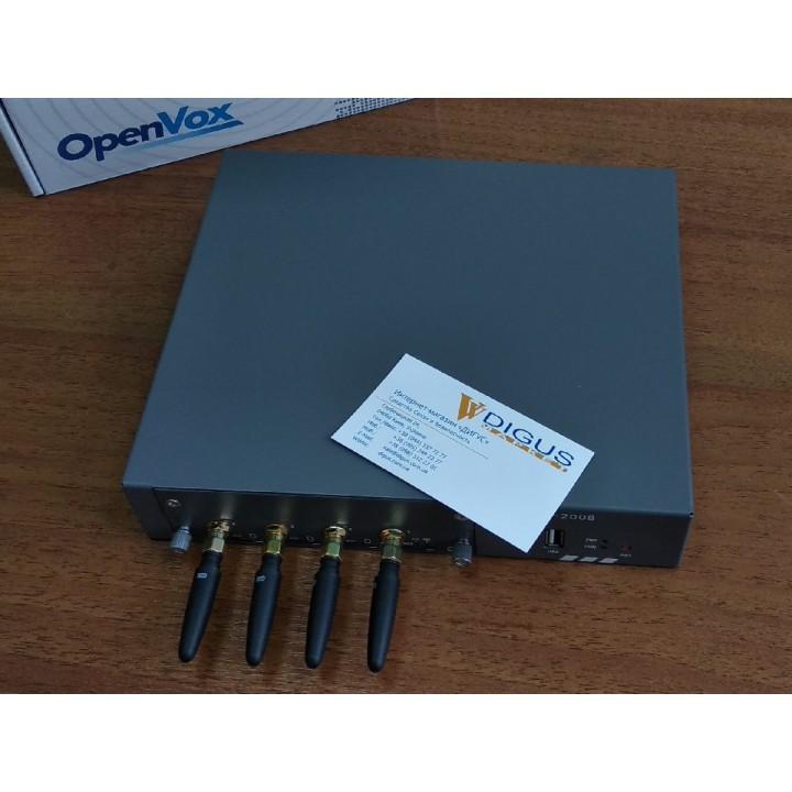 VOIP-GSM/3G/LTE Шлюз OpenVox SWG-2008-4G