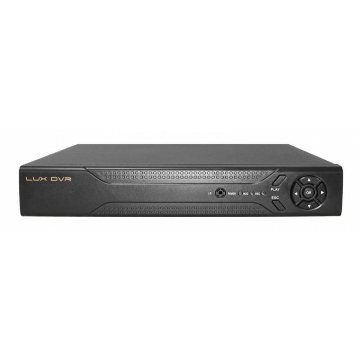 Гибридный (AHD+АНАЛОГ 1080Р) 4-канальный регистратор - LuxDVR AHD-04G1080