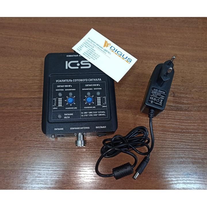 Репитер 4G GSM сигнала ICS10N-GD 900/1800