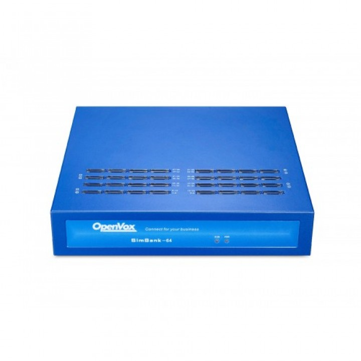 SimBank производителя OpenVox на 64 Sim карты