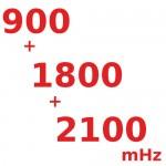 900/1800/2100 (мГц) Трех-диапазонные Репитеры