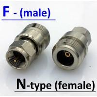 Переходник  F(male) - N(female)