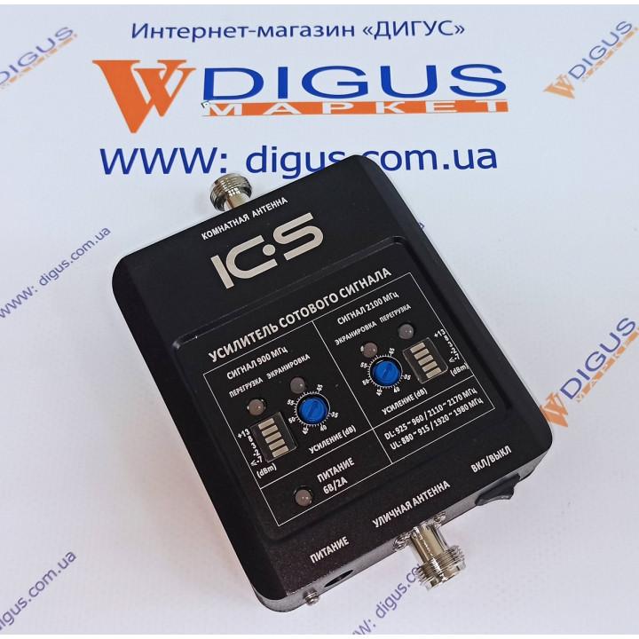 Репитер 4G 3G GSM сигналу ICS10N-GW 900/2100
