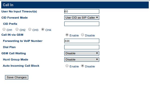 Goip8 Dial Plan